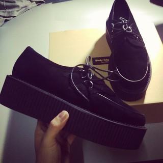 BIRDYEDGE訂製 厚底鞋  高跟鞋 男  5CM 增高  超級厚底  真皮  男厚底鞋