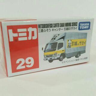 TOMICA 29 三菱 貨車 熊貓車