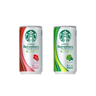 Starbucks 星巴克 行動電源 扶桑花 冰搖沁爽 鐵罐 飲料罐 5200安培