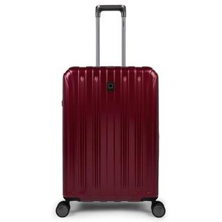 DELSEY VAVIN 26吋行李箱 (酒紅) 二手,只用過一次 九成新