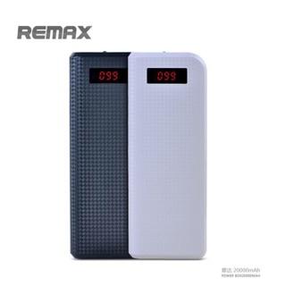 Remax 玲瓏 20000mah 行動電源 大容量 雙輸出 液晶顯示電量