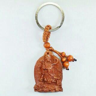 桃木 天上聖母(媽祖)鑰匙圈