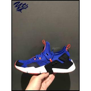 @ NIKE AIR HUARACHE DRIFT BR 藍 橘 休閒 透氣 武士鞋 男鞋 AO1133400 YTS