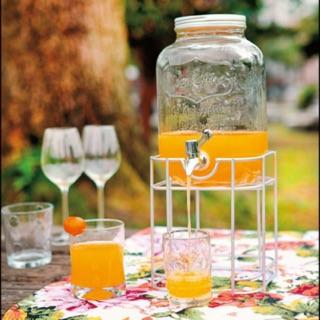 ☀️夏天必備 ☀️飲料罐桶  3.5L 現貨不用等 圖二實拍圖 含木架