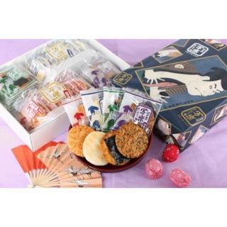預購 日本江戶壽司煎餅禮盒 免運 年節禮盒