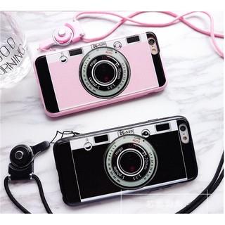 相機情侶iphone6/6s手機殼6plus保護套蘋果六掛繩iPhone5/5s防摔套