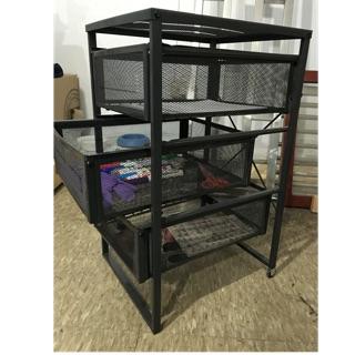 Ikea收納 鐵櫃