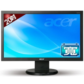 Acer 20吋 液晶螢幕LCD(二手)