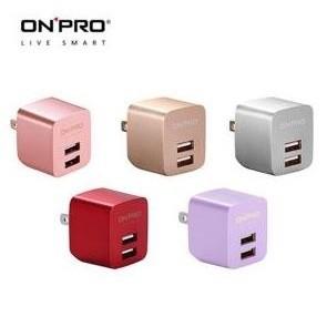 ~3C寶貝窩~ ONPRO UC~2P01 雙USB輸出電源 器 充  5V 2.4A