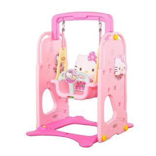 Hello Kitty夢幻可愛室內兒童鞦韆