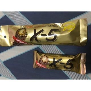 韓國Samjin X-5脆心花生巧克力棒(大支款)