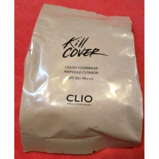 孔孝真代言的CLIO Kill Cover水潤安瓶精華氣墊粉餅補充包