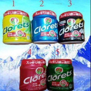 日本 CLORETS 木糖醇 140g 口香糖