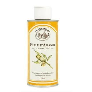 LA TOURANGELLE  杏仁油250ml-法國頂級油品,富含維生素E