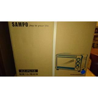 [金長美] SAMPO 聲寶烤箱 KZ-PU18 / KZPU18 電烤箱 容量:18公升