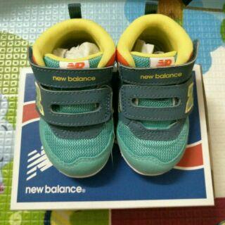 New Balance-N字高筒寶寶鞋(綠色)