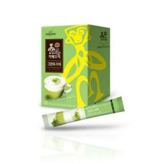 (預購)韓國 Jardin 抹茶拿鐵咖啡 15gx12