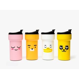 預購 韓國 KAKAO Ryan 萊恩 獅子 APEACH 桃子 MUZI 兔子 鴨子 水瓶 水壺 隨身瓶 不鏽鋼隨行杯