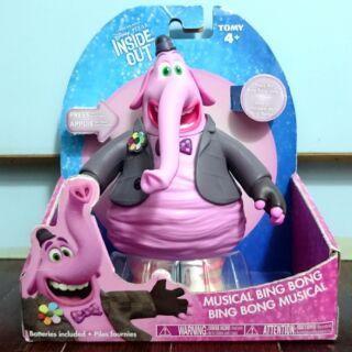 Disney Pixar 腦筋急轉彎Inside Out -Bing Bong 音樂音效造型人偶