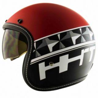 T383A+ 彩繪 鑽石 DAIMOND 內墨鏡復古帽 騎士帽 安全帽 半罩 四分之三  內襯可拆洗 *阿生哥騎士生活舘