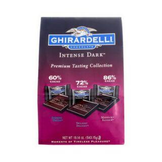 GHIRARDELLI 黑巧克力綜合包 - 3種口味(51入) 543公克