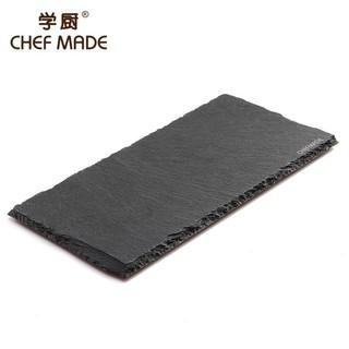 愛廚房WK9361 天然石板長方形擺盤天然板岩餐盤自然冷盤甜