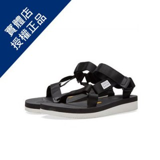 ~ALL~ SUICOKE DEPA-V BLACK 黑色 涼鞋 OG-022-BLK