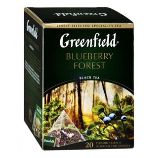 Greenfield Blueberry Forest 藍莓茶 20入 預購品