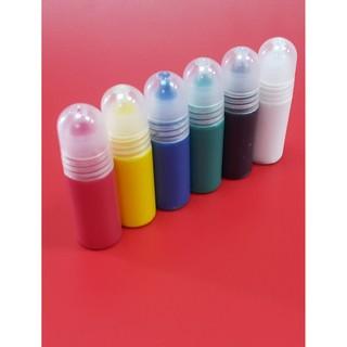 壓克力顏料 10ML (6色顏料組/+筆套裝組) 套裝組 顏色飽滿 好畫 台灣製 3入尼龍筆/小黑筆