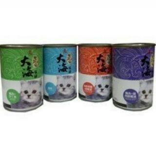 BlackyBaby~ 皇冠 貓罐 大海貓罐 400g 400克 含整塊魚肉