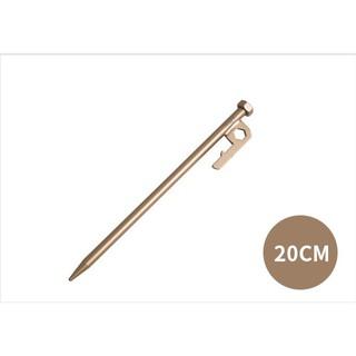 NTH2620 努特NUIT 六角金箍棒營釘8mm*20cm ∣不鏽鋼∣地釘∣帳篷地墊∣大營家露營登山休閒
