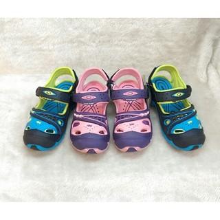 童鞋 男童 女童 男鞋 女鞋 當季正貨GP促銷現貨 阿亮代言 MIT台灣製 防水 防滑 涼鞋 包指 護指 藍色 紫色