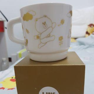 【韓國】 LINE FRIENDS 正版 熊大 兔兔 莎莉 雷納德 馬克杯 杯子 咖啡杯 水 隨行杯