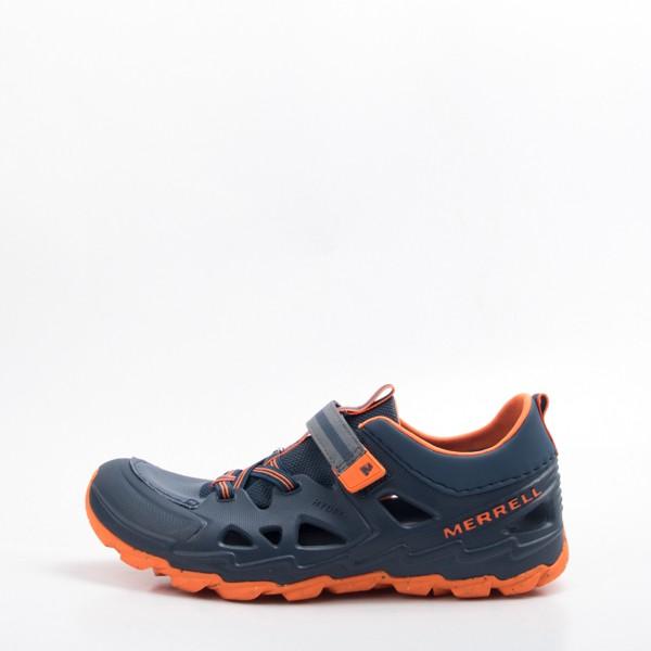 MERRELL HYDRO H2O 兒童水陸兩棲運動鞋-深藍/橘 大童 MLY59705 現貨