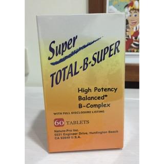 (買一送一)祈達維康B群加強錠 60錠 Total-B-Super