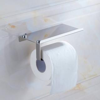 304不銹鋼浴室電話座 紙巾架 衛生紙盒 香水架