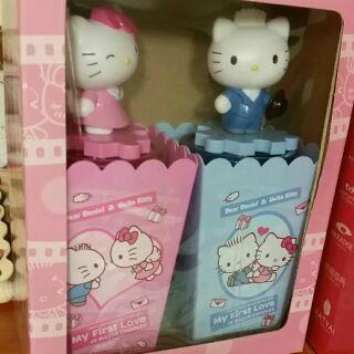 Hello Kitty 爆米花 情侶套組