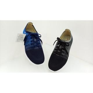 地之柏 dispon 運動休閒系列雙彩漸層織面氣墊鞋