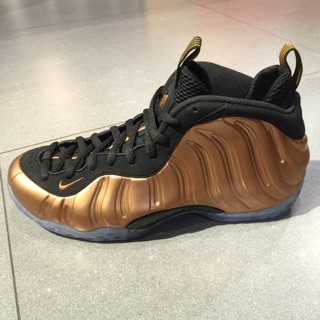 Nike air foamposite one 太空鞋 銅噴 黑銅 314996007