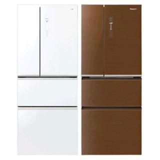 Panasonic國際牌  500L 四門電冰箱 無邊框玻璃 nanoe保鮮淨化  NR-D508NHGS-W(翡翠白)