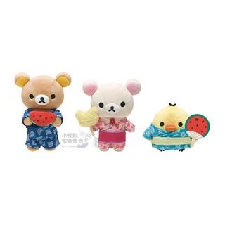 日本預購夏日廟會祭典懶熊玩偶娃娃