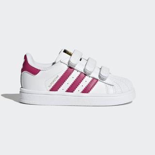 2/9 代購 ADIDAS KIDS ORIGINALS SUPERSTAR 小童 白粉 金標 休閒鞋 BZ0420
