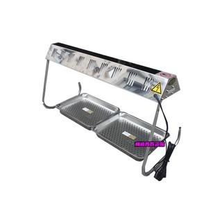 《利通餐飲設備》HY-568 紅外線保溫燈 保溫箱 保溫台