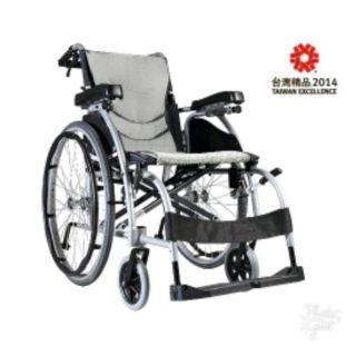 ✡️百衣百順✡️(二手保留中)KARMA康揚輪椅鋁合金舒弧106