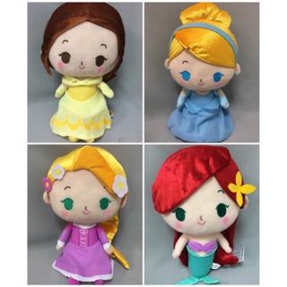日本版 迪士尼公主系列 娃娃 美人魚 長髮公主 灰姑娘 貝爾(全4種)