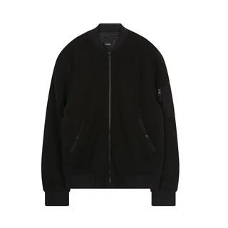 韓國topten代購黑色飛行外套