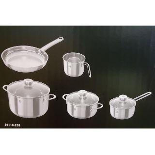 德國雙人牌五件鍋具組