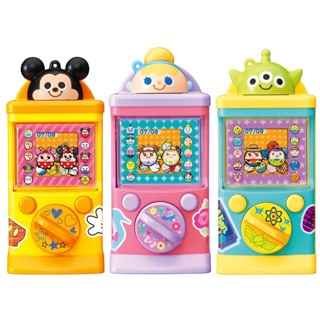 日本 TAKARA TOMY 迪士尼Disney聯名口袋虛擬扭蛋機電子扭蛋機 米奇/仙度瑞拉灰姑娘/三眼怪共三款