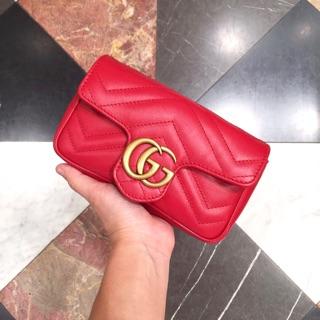 巴黎代購 全新 Gucci - GG Marmont 小香包(Super Mini)