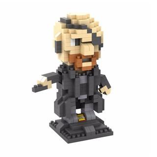 現貨 LOZ 微型積木 鑽石 益智 玩具 趣味 超級英雄 金鋼狼 萬磁王 紅骷髏 死侍 鷹眼 獨眼龍 閃電俠